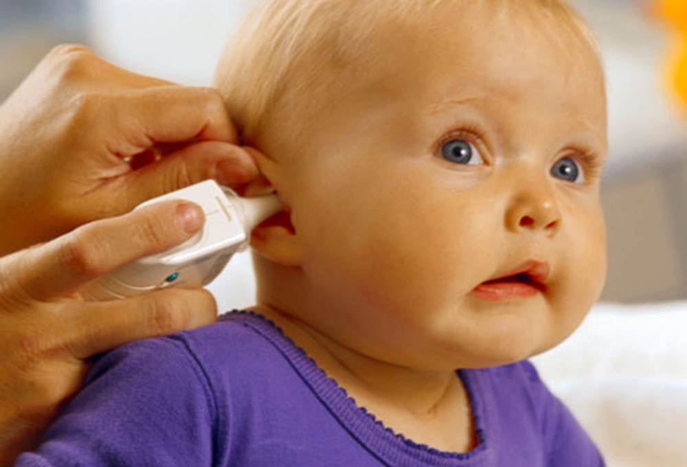 Neonatal hearing screening